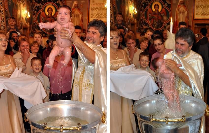 Poze de botez in Bucuresti