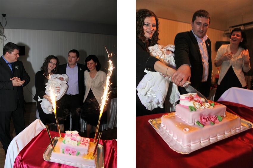 fotografii taierea tortului