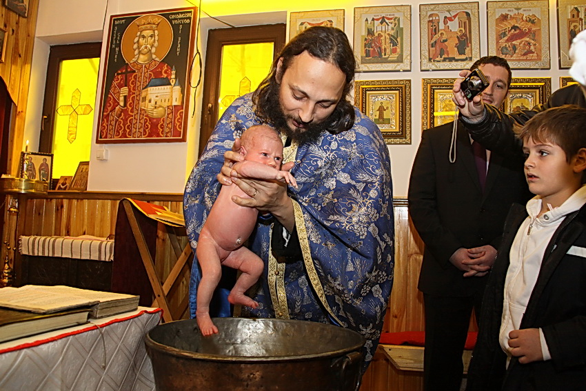 fotograf botez - botezul