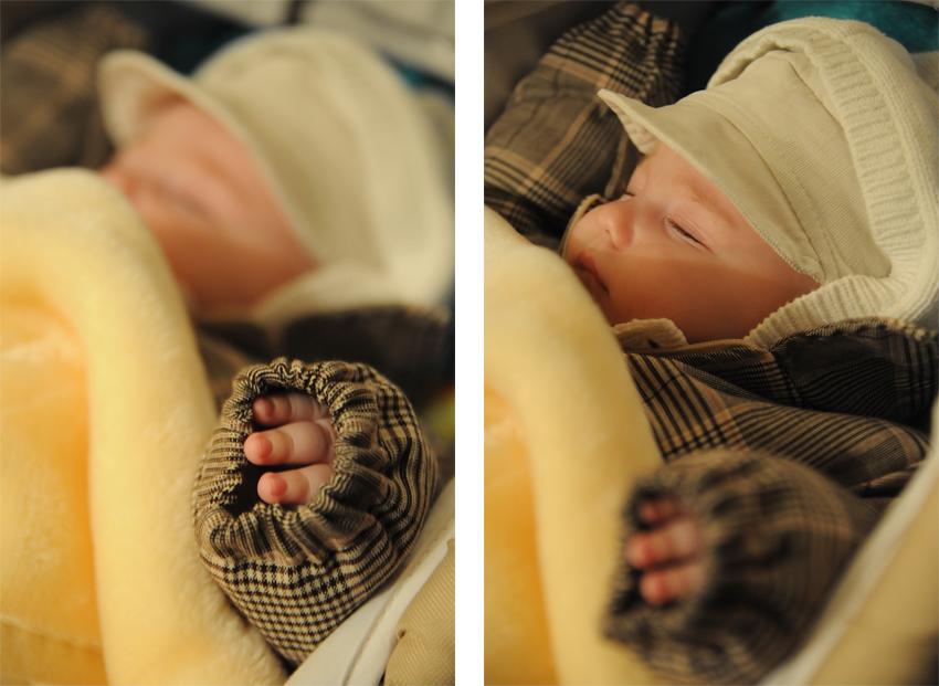 fotograf botez bebelus dormind